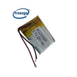 402030 042030 鋰聚合物電池3.7V MP3 小玩具 藍牙電池 帶保護板(30