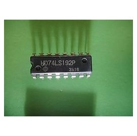 直插 74LS192 可預置BCD雙時鐘可逆計數器 DIP~16 5個一拍  54316~