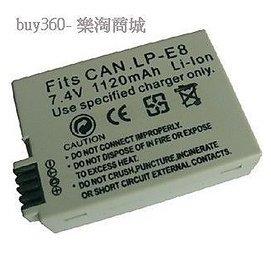Canon 相機電池T2i EOS 550D X4 LP~E8相機電池15 300