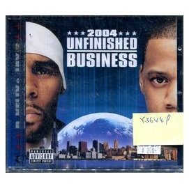 ~虹彩妹妹~ R.KELLY   JAY~Z  UNFINISHED BUSINESS