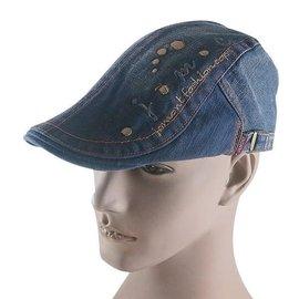 ~二鹿帽飾~春夏新品 中性帥氣. 打鳥牛仔薄款帽 可調整型 鴨舌帽 小偷帽 報童帽~2色