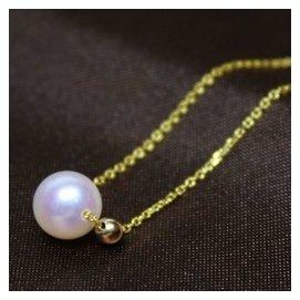 ~尊貴大氣典雅低調~ 海水AKOYA珍珠 18K金腳鏈手鏈 7.5mm