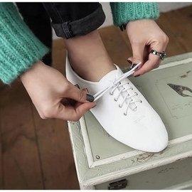 小白鞋四季鞋女鞋 系帶平底鞋牛筋底女淺口耐磨單鞋跳舞鞋女鞋