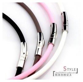 正品 磁力項圈磁療項鏈鈦項圈 項鏈保健鈦鏈頸環男女頸椎圈