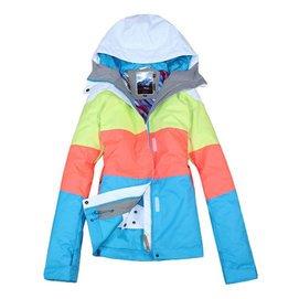 Gsou snow滑雪服 保暖滑雪服女滑雪衣 單雙板衝鋒衣女套裝 正品