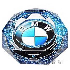 ~mini plus~水晶煙灰缸 BMW寶馬煙缸 寶馬汽車標定制 名車 商務 車載煙灰缸