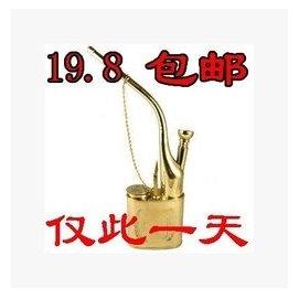 老壽星純銅 兩用型過濾水煙壺 水煙鬥 水煙袋 包郵男士