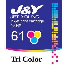 HP 環保墨水匣 61 彩色 CH562WA :J410a 410 J610a 610 D