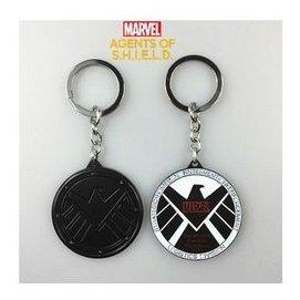 ^(DN^)漫威 復仇者聯盟SHIELD神盾局特工鷹標金屬鑰匙扣鑰匙圈