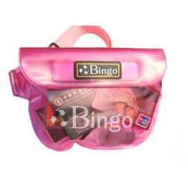 正品bimgo 防水腰包漂流袋粉色新品浮潛裝備潛水 遊泳