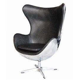 ~台大復刻 ~1950s Copenhagen Spitfire Chair 鋁皮 鉚釘