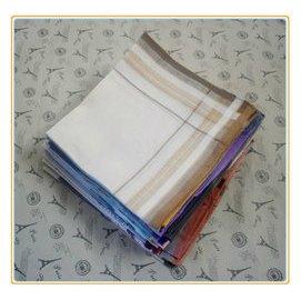 尾單 男士女士淺色手帕 手絹 汗巾 方巾 顏色