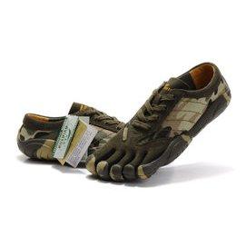 Vibram fivefingers 五指鞋攀岩登山鞋男士鞋 跑步鞋越野鞋 迷彩