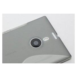 ~GooMea~買2  贈保貼 Nokia Lumia 1520 軟性 S型 清水套 手機