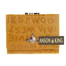 Anson king  專櫃正品 vivienne west wood 薇薇安 字母壓紋