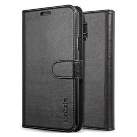 SPIGEN 簡約保護皮套外殼 於 三星Galaxy S5 黑色