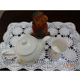 Vintage 歐洲帶回 古董 純 棉線編織的古典蕾絲桌墊 杯墊 櫃墊 鍋墊 隔熱墊 裝飾