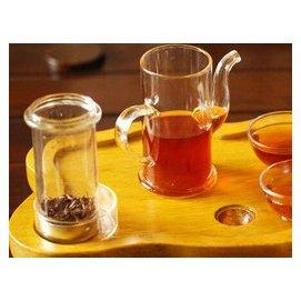 ^~世藏茶酩^~烏龍茶^|普洱茶^|花草茶 玻璃沖茶器茶水分離泡茶杯子耐高溫茶壺