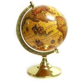 MIT外銷 日同步_ BM1444 純銅大C航海地球儀 複刻古航海地圖地球儀系列
