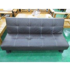 金鑫  皮製沙發床 折疊床 沙發床 三人沙發 客廳椅 沙發 等待椅 ~ 全省收購 台北傢俱