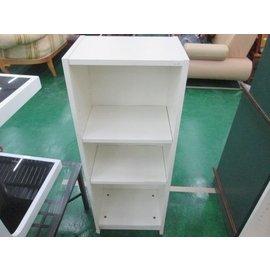金鑫  館 白色三層櫃 書櫃 收納櫃 置物櫃 分類櫃 衣櫃 鞋櫃 ~ 高價收購 新北市傢俱