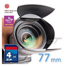 又敗家~Hoocap TR77半自動77mm鏡頭蓋77mm遮光罩Sigma 50mm 85