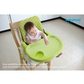 ?媽咪臻果babyhood可攜式兒童餐椅^(坐墊^)嬰兒多 防水四季 寶寶餐椅墊 3色可挑