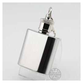 伏加尼~男士隨身酒壺 帶鑰匙扣 304不鏽鋼酒壺1oz(盎司)0.6兩