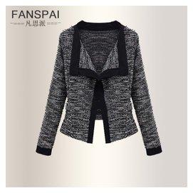 針織衫 女開衫薄外套2014早秋裝新風尚外搭修身小外套女毛衣