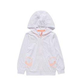 巴拉巴拉 男童防曬服幼童寶寶連帽薄外套2015兒童夏裝 019~白色調 110