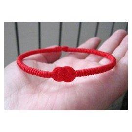 本命年紅繩腳鏈腳繩 金剛結同心結紅繩轉運腳鏈 男女友閨蜜