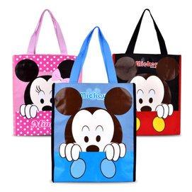 2014迪士尼正品米奇兒童手提包 學生補習袋 卡通飯盒袋 男 女小包