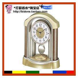 直郵 SEIKO精工 仿古古典式電波 座鐘鬧鐘指針式 正品
