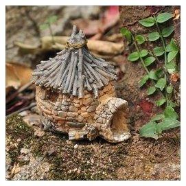 專利唯一房子家居裝飾品可愛小擺件迷你擺桌面小擺飾精美 盆景
