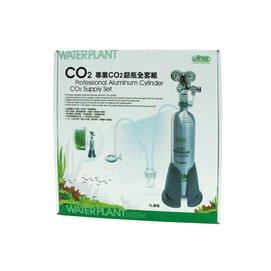 快樂水族I~677~ ISTA~伊士達~ CO2鋁瓶全套組˙1L鋁瓶~ 套裝組