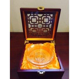 水晶沉香密封盒外包裝高檔盒子沉香紫檀養珠盒 超高透明水晶沉香盒套裝 首飾手串珠鍊手鍊盒手鐲