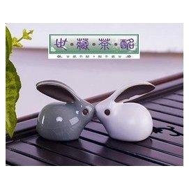 ~世藏茶酩~烏龍茶 普洱茶 花草茶 特色茶具茶道茶玩開片哥窯汝窯茶寵擺件生肖小吉兔兔子