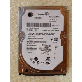 希捷 Seagate Momentus 120GB 5400 RPM 轉 2.5 筆記型電