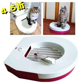 2015寵物貓馬桶送好神貓貓廁所訓練器貓砂盆 廠家  送不鏽鋼拾便器 ^(好神貓環保兩用貓