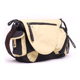 潮流單肩包帆布包男包斜挎包 包包 男士學生書包復古背包 後背包