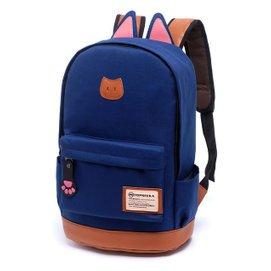 雙肩包中學生書包初中生小學生雙肩書包男包潮女包背包學院風 後背包