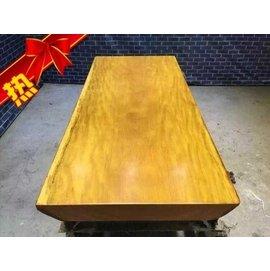 ?花梨大板桌原木畫案大班台簡約餐桌茶桌老板辦公桌實木大板