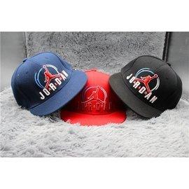 ~兩件 ~美國NBA球隊 喬丹彩色刺繡簡單大方棒球帽 嘻哈帽戶外遮陽