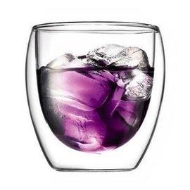 歐洲正品BODUM雙層杯杯 玻璃水杯 250ml 冷熱飲茶杯玻璃雙層茶杯