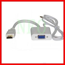 高清HDMI轉VGA線採用 IC 轉換晶片,將HDMI信號轉為VGA信號,不對信號進行縮小