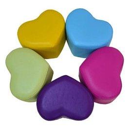 lt Vi gt 溫馨家庭 心形小凳子穿鞋凳換鞋凳實木擱腳凳矮凳化妝凳沙發凳小號 親子凳