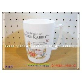 ^~︵House傢飾2館︵^~韓國製^~peter rabbit 彼得兔PE兔媽媽馬克杯
