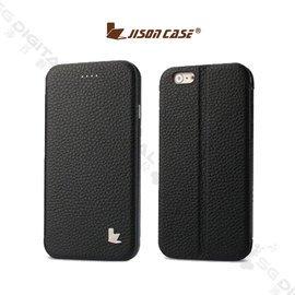 JisonCase Apple iPhone 6 PLUS 5.5吋 真皮翻蓋皮套 可站立