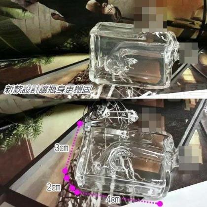 ㊣娃娃研究學苑㊣購滿499免 強化琉璃純 史上最小的水煙斗 穩固加強 4代 水煙壺 單售