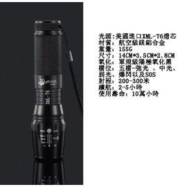 神火 878 26650 強光手電筒 T6 L2 變焦 充電 自行車燈 防水 遠射 騎行
